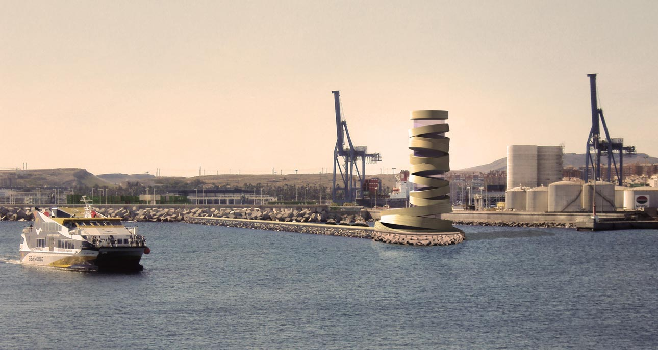 Control Tower in Alicante's Seaport